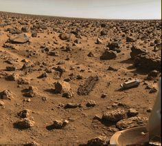 "The surface of Mars. ""Somewhere, something incredible is waiting to be known."" ― Carl Sagan"