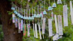 Japanese wind chimes - Ikegami Honmonji temple by Takashi KAMIYA