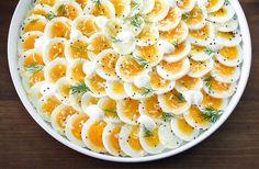 Citronmarinerade ägg
