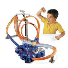 hot wheels triple track twister track set tracks are built for speed and gravity defying stunts - Best Toys For Christmas