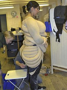 Homemade Fat Suit 19