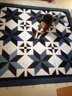 Big Star Quilt (Pattern by Missouri Company tutorial)