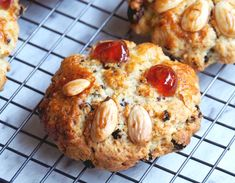 A Trip to Betty's and How to Make Fat Rascals Almond Recipes, Baking Recipes, Cookie Recipes, Dessert Recipes, Healthy Cake, Healthy Cookies, How To Bake Biscuits, British Biscuit Recipes, Boiled Fruit Cake