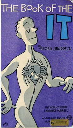 The Book of the It by Georg Groddeck. Cover design by Abner Dean, 1961.
