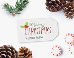 Christmas Gift Tag, Printable Christmas Gift Tag, Printable Tag, Editable Christmas gift tag, DIY Printable INSTANT DOWNLOAD #GiftTag #PrintableGiftTag #PrintableTag #ChristmasGiftIdea #EditableGiftTag #printable #DiyPrintable #ChristmasGiftTag #EditablePdf #ChristmasTag