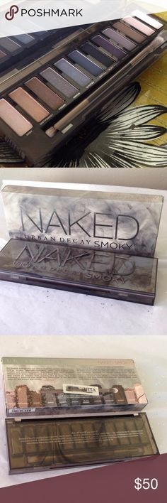 Naked [Smoky] palette Urban Decay Naked Smoky palette. Brand NEW, unused, unswatched, in original box, authentic.  Make an offer or bundle and save.  [Tags: makeup, cosmetics, beauty, product, gift, party, wedding, goddess, mermaid, goth, rave] Sephora Makeup Eyeshadow