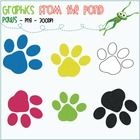 Paws - FREE Graphics for Personal and Commercial Use  @Stephanie Close Mathis