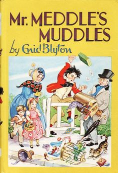 Meddle s Muddles by Enid Blyton - Vintage 1970 - Hardcover - S/Hand 1970s Childhood, My Childhood Memories, Sweet Memories, Enid Blyton Books, Animal Books, Vintage Children's Books, Love Book, My Books, Story Books