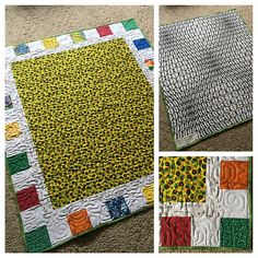 Wholecloth baby quilt by Grace and Peace Quilting