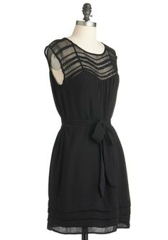 This would become my favorite go to dress, I'm sure!  Lacking Nothing Dress, #ModCloth