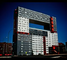 """Edificio Mirador"", (""Edificio Observador"") - Madrid, Espanha"