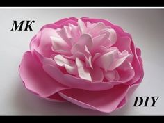 Как сделать пион из фома МК/How to make Foam Flower, DIY, Tutorial Foam peony - YouTube