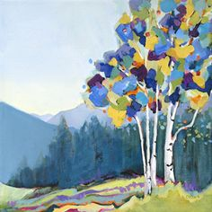 landscape painting by Carolee Clark