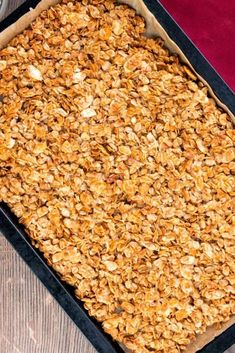 Air fryer homemade granola recipe is a healthy and tasty alternative to store bought versions.. One bite and you will understand why making your own at home is worth it every time. And our wholesome version is full of the subtly sweet flavor you know and love gives you control over how much sugar and oil you use. This way you know you can serve your family a bowl of homemade granola for breakfast and have confidence that you are getting their day started off right! Most Popular Recipes, Amazing Recipes, Favorite Recipes, Superfood Recipes, Snack Recipes, Delicious Food, Tasty, How Much Sugar, Top Trending