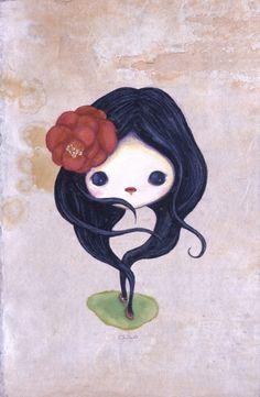 Yokai Moimoi with Camellia | Chiho Aoshima