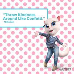 Today's reminder!  xo, Talking Angela #TalkingAngela #MyTalkingAngela #makeup #Qotd #quote #cute #LittleKitties