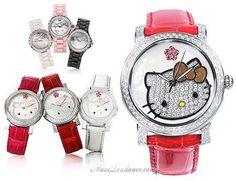 Kimora Lee Simmons for Hello Kitty l #watch #jewelry