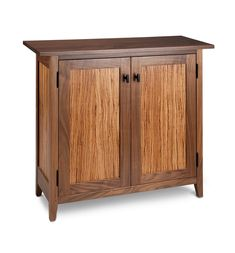 Front view of cabinet.
