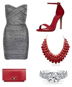 """engagement worthy"" by porcha83 ❤ liked on Polyvore featuring WithChic, Schutz and Givenchy"