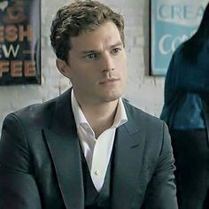 His look in this scene