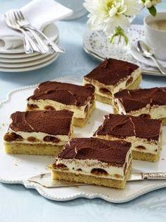 Das Rezept für Tiramisu-Kuchen vom Blech und weitere kostenlose Rezepte auf LECKER.de