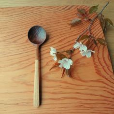 #108 山桜の木のシチュースプーン http://www.iichi.com/listing/item/101137
