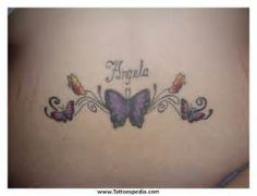 Star Tattoo on Lower Back Star Tattoos Lower Back Girls Tattoo 1