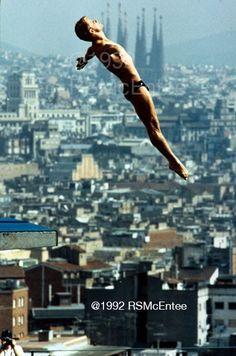 Matt Scoggin (USA, Men's Diving, Barcelona 1992)