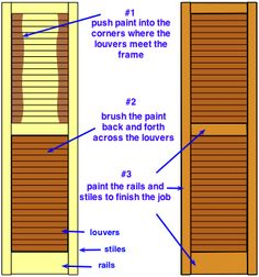 Shutters colors my new house coming soon pinterest - Exterior paint that lasts forever ...