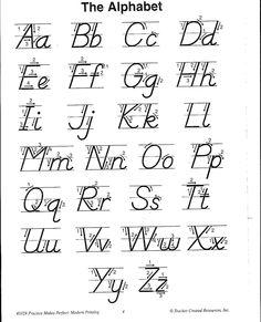 √ D Nealian Handwriting Worksheets Printable