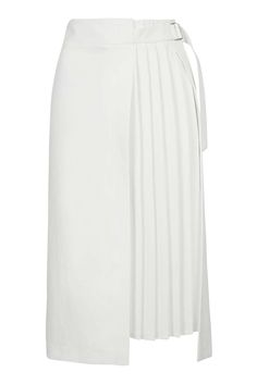 Pleat Detailed Midi Skirt - Skirts - Clothing - Topshop Europe