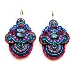 Hey, I found this really awesome Etsy listing at https://www.etsy.com/uk/listing/199417669/sunbirds-soutache-earrings-in-purple