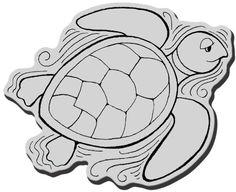 "Stampendous Cling Rubber Stamp, ""Pen Pattern Turtle"" STAMPENDOUS http://www.amazon.com/dp/B00J667JAI/ref=cm_sw_r_pi_dp_cIh3tb12ZNJ531FP"