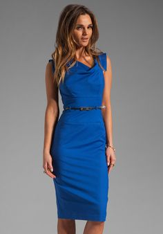 a8b7f4db866 Jackie O Dress in Skydiver - Lyst Casual Work Outfits