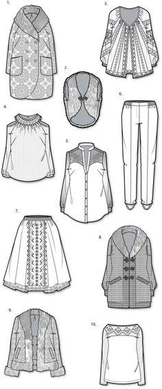 Wardrobe ideas for dolls