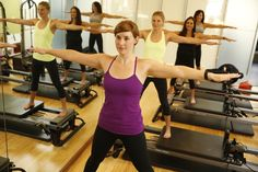 Pilates Reformer classes offered daily.