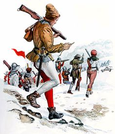 Swiss handgunners of the Burgundian Wars. Obwalden