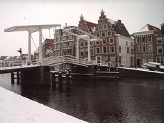 Draw Bridge in Haarlem