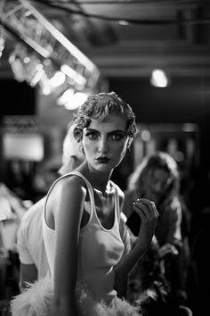 At John Galliano Photography by @James Barnes Bort