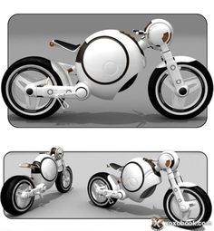 Swordfish Motorcycle Concept The Swordfish Motorcycle concept by SABY sports an aggressive futuristic design and hubless wheels. The overall look has interesting mix between curves and sharp angles that earn this bike its name