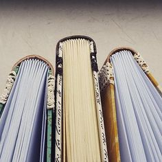 handmade bookbinding / series - leather & paper / by ardeas / http://www.ardeas.sk/