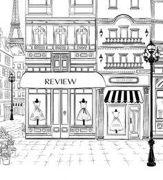 Coloring pages - Megan Hess — The Jacky Winter Group Megan Hess Illustration, Paris Illustration, Coloring Book Pages, Coloring Sheets, Jacky Winter, Buch Design, Design Design, Urban Sketching, Digital Stamps