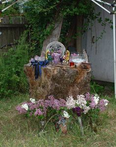 Beltaine's altar