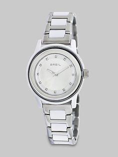 Breil - Swarovski Crystal Accented Stainless Steel Watch - Saks.com