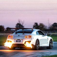 Spitting Fire!!! Más · Nissan Gtr R35Jdm CarsCars ...