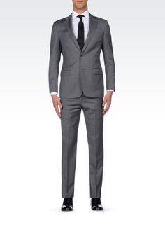 bf78d16275a Armani Collezioni Men Suits at Armani Collezioni Online Store Mens Fashion  Suits