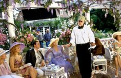 Glenn Close with Frank Oz on the set of The Stepford Wives (2004)