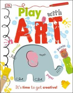 Play with art / dk / diy crafts book / creative projects for kids – treehouse kid and craft Cool Art Projects, Easy Projects, Projects For Kids, Fun Arts And Crafts, Book Crafts, Paper Crafts, Fun Crafts, Dk Publishing, Vegetable Prints