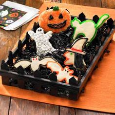 Passed on through generations of moms, these cookies are a Halloween favorite recipe.