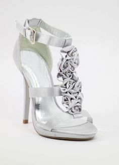August 19 - 24 2012  Featuring Silver Weddings    silver bridesmaids shoes